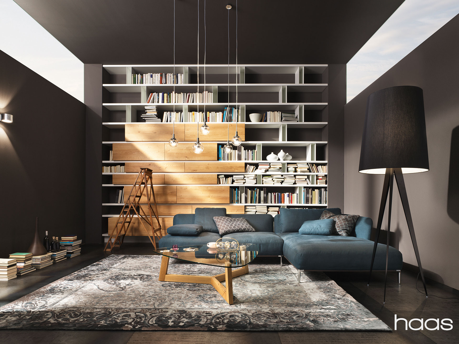 wohnzimmer m belstudio schriebl. Black Bedroom Furniture Sets. Home Design Ideas